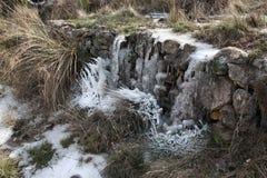 Frozen creek Royalty Free Stock Image