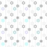 Frozen crystal Snowflake basic vertical line seamless pattern texture background in deep gray tone Stock Images