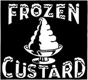 Frozen Custard Royalty Free Stock Images