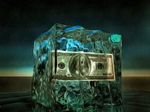 100 Frozen Stock Photography