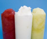 Frozen Drinks Stock Image
