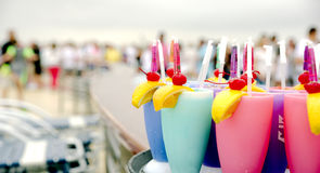 Frozen Drinks Royalty Free Stock Image