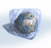 Frozen Earth Royalty Free Stock Photos