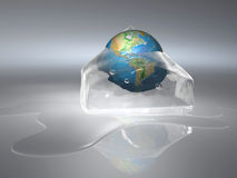 Frozen Earth Stock Image