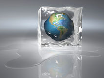 Frozen Earth Stock Photos