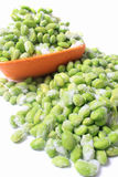 Frozen edamame Royalty Free Stock Photo