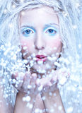Frozen fairy Stock Photos