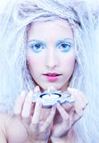 Frozen fairy Royalty Free Stock Photos