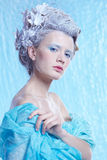 Frozen fairy Stock Photo
