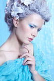Frozen fairy Stock Photo