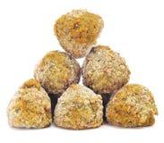 Frozen falafel balls Royalty Free Stock Photo