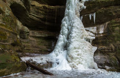 Free Frozen Falls. Stock Images - 84316674