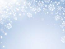 Frozen festive background Stock Photo
