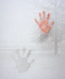 Frozen Fingers Stock Image