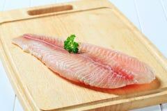 Frozen fish fillet Stock Photo