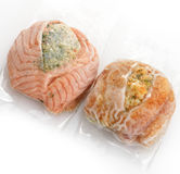 Frozen Fish Fillets Stock Photo