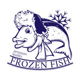Frozen fish Royalty Free Stock Photography