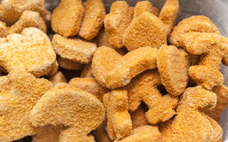 Frozen fish sticks Royalty Free Stock Images