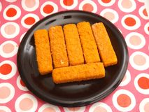Frozen Fishsticks Stock Photos