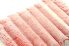 Frozen Food Crab Sticks Royalty Free Stock Images