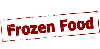 Frozen food Royalty Free Stock Images