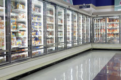 Frozen Food section Stock Images