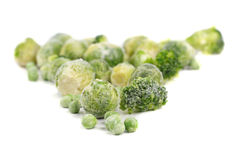 Frozen food Stock Photography