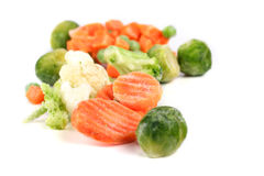 Frozen food Stock Photo