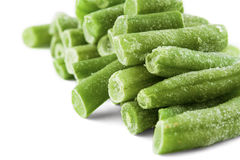 Frozen french beans Royalty Free Stock Images