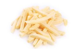 Frozen french fries. Royalty Free Stock Photos