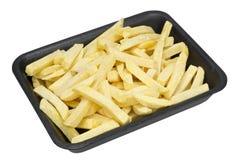 Frozen French fries potato strips Stock Photo