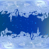 Frozen frost Royalty Free Stock Images