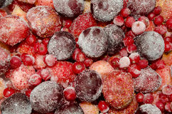 Frozen fruit Royalty Free Stock Image