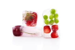 Frozen fruits and vegetables. Royalty Free Stock Photography