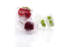 Frozen fruits and vegetables. Royalty Free Stock Photo