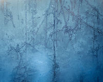 Frozen glass Stock Photography