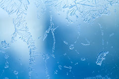 Frost icy flowers on a glass stock image image 3670621 for Best windows for cold climates