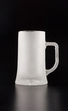 Frozen Glass tankard Stock Photography