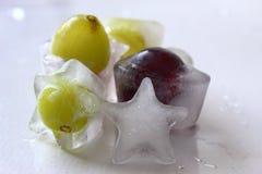 Frozen grape Stock Photos