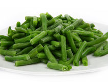 Frozen green beans Royalty Free Stock Photography