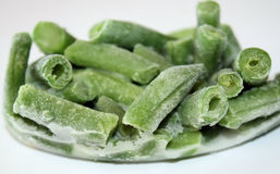 Frozen Green Beans stock images