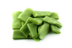 Frozen green beans Stock Image