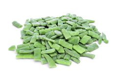 Frozen green beans Royalty Free Stock Images