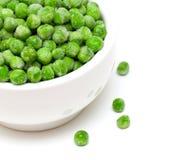 Frozen green peas Stock Photography