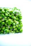 Frozen green peas Stock Photo