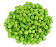 Frozen green peas Stock Photos