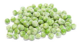 Frozen green peas Stock Image