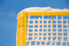 Frozen grid Stock Photography