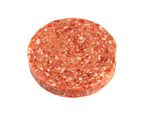 Frozen hamburger patty Royalty Free Stock Photo