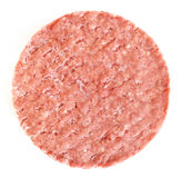 Frozen Hamburger Patty Stock Photography